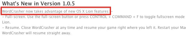 Lion ready apps on the Mac App Store