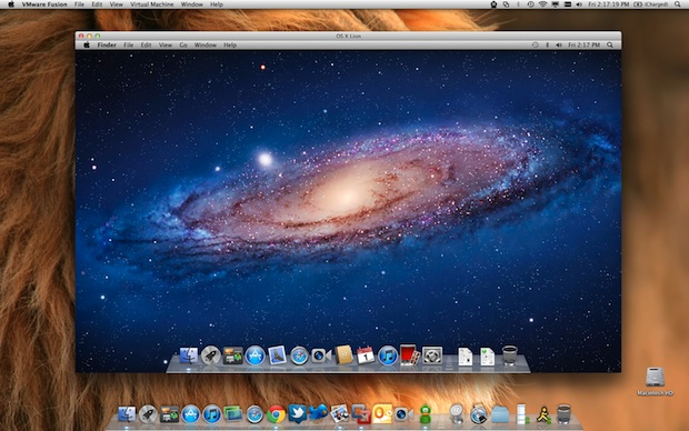 Mac OS X Lion in a Virtual Machine