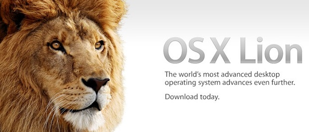 OS X Lion on the App Store
