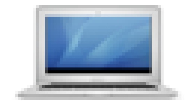 Pixelized MacBook Air