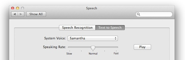 Voices in OS X Lion