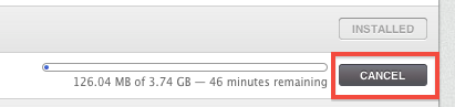 Cancel Download from the Mac App Store