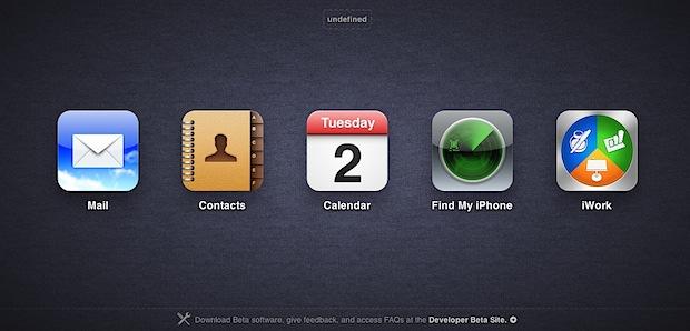 iCloud beta apps