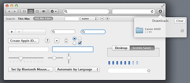 Mac OS X Lion UI Elements PSD