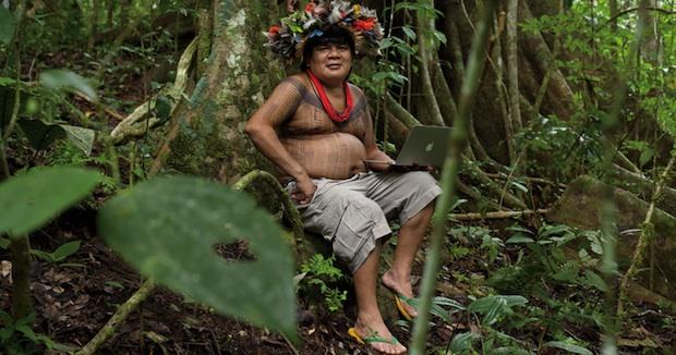 MacBook Air in the Amazon