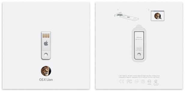 OS X Lion USB Thumb Drive