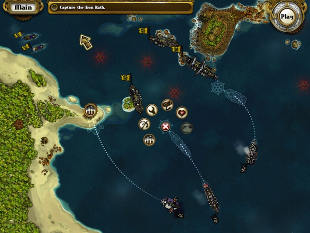 Crimson Steam Pirates for iPad
