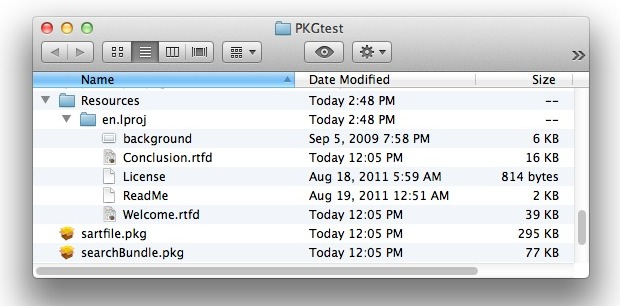 Extract Package (.pkg) file contents without installing them in Mac OS X