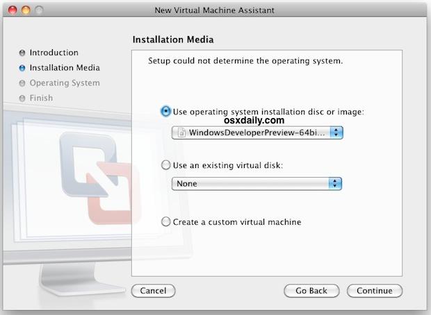 Install Windows 8 in VMWare