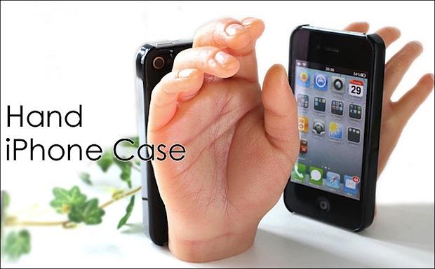 iPhone hand case