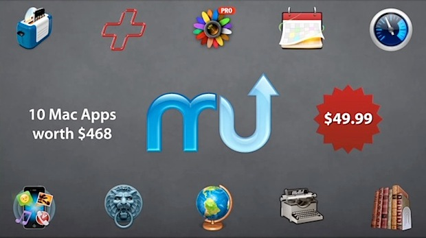 MacUpdate Fall Bundle of Mac Apps