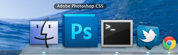 Photoshop in Mac OS X