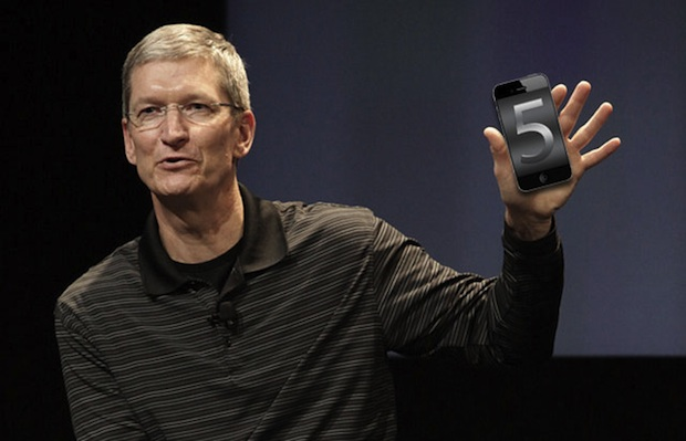 Tim Cook and iPhone 5