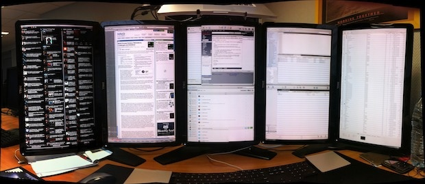 Mac with 5 Screens