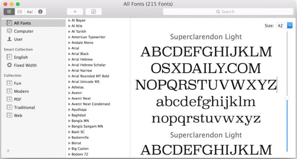 How to Install & Remove Fonts in Mac OS X
