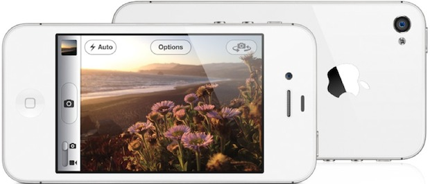 Apple iPhone 4S in white