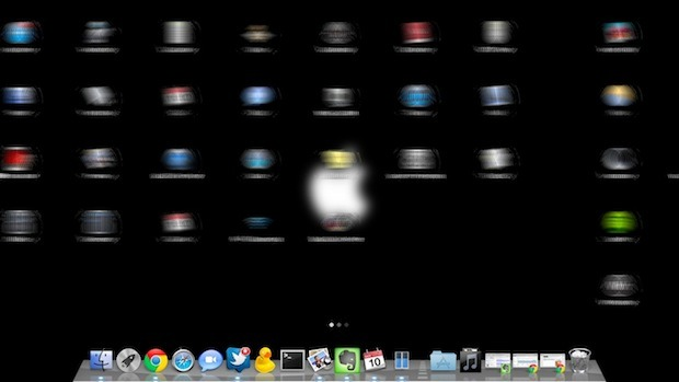 Blur Launchpad Movements in Mac OS X Lion
