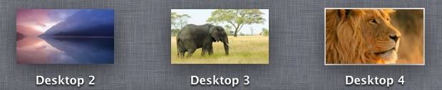 Use Different Wallpapers for Spaces in Mac OS X Lion