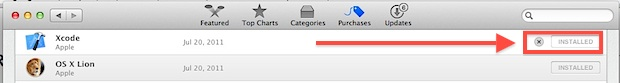 Hide Mac App Store purchases