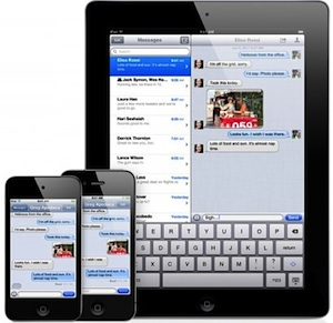 iMessage syncing