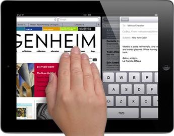 Multitasking Gestures for iPad 1