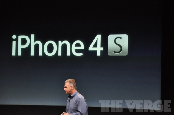 iPhone 4S announced officially