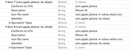 iPhone 4S shows up in iTunes beta