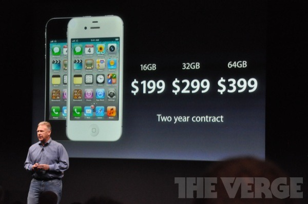 how much is an iphone 4s worth iphone 4s pricing 16gb is 199 32gb is 299 64gb is 399 9034