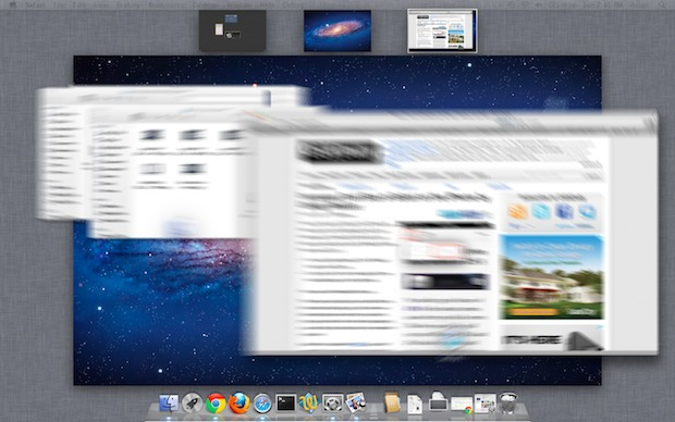 Enable Motion Blur in Mission Control (Mac OS X Lion)