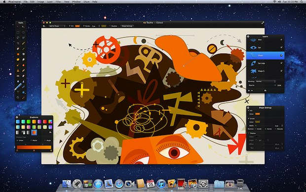 Pixelmator 2 Screenshot