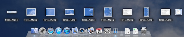 Show Recent Items per application in OS X