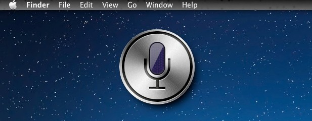 Siri for Mac OS X concept