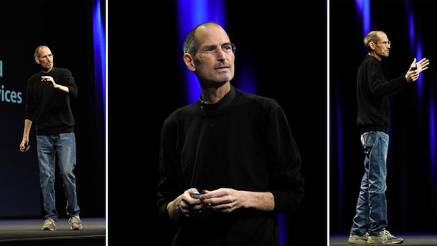 Steve Jobs and the black turtleneck