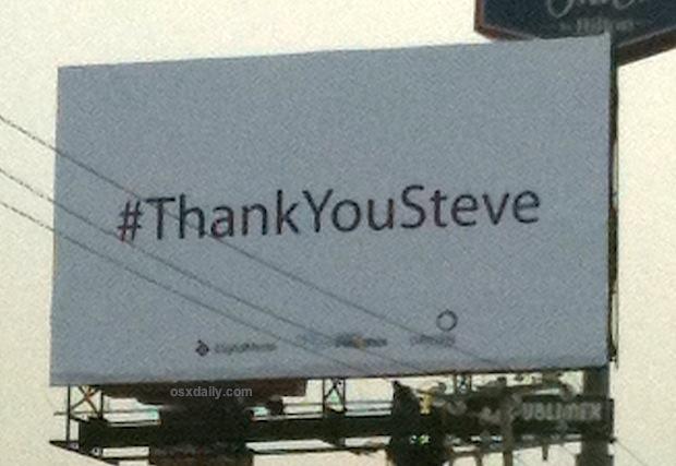 Thank You Steve