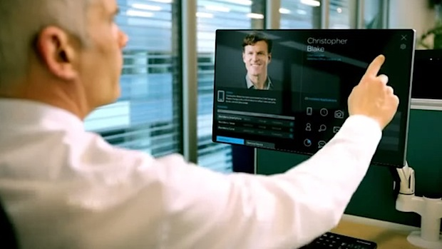 Blackberry imagines a touch computer