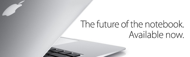 the future of notebooks is MacBook Air
