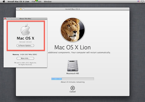 Install Lion in a VM over Snow Leopard