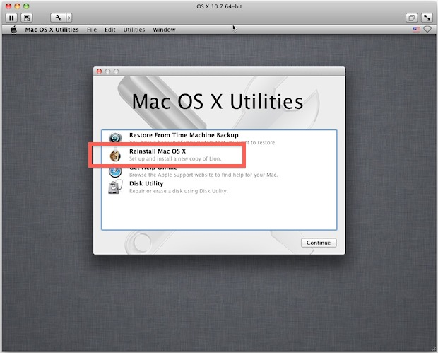 Installing Lion in a Virtual Machine