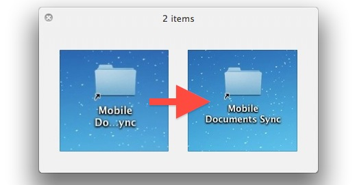 Show full file and folder names on the Mac desktop