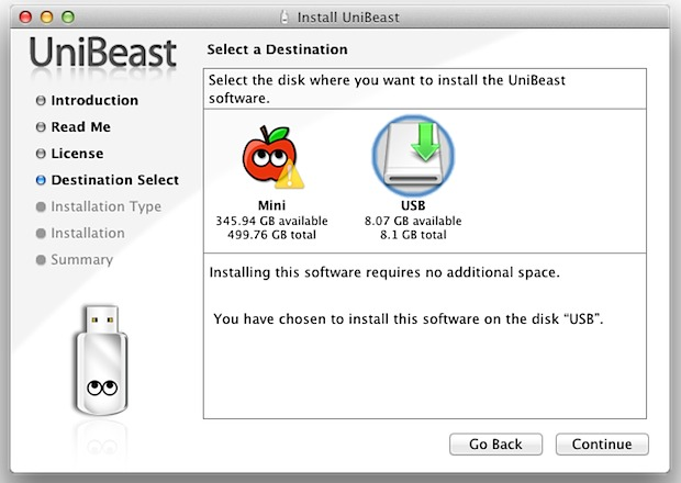 Installing OS X Lion on a Hackintosh with Unibeast