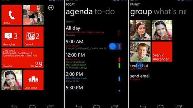 Windows phone demo on the iPhone
