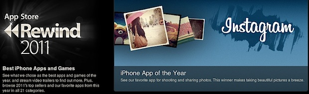 iOS App Store Rewind for 2011