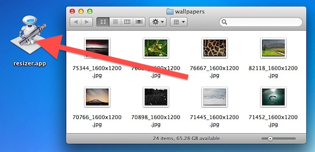 Batch Resize Images in Mac OS X