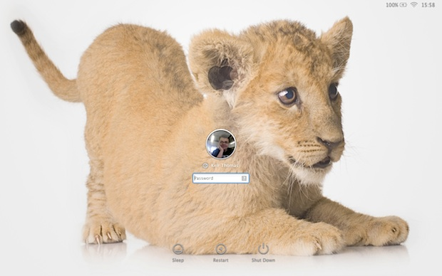 Change the login wallpaper in Mac OS X Lion