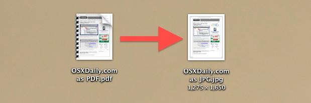 Convert a PDF file to JPG