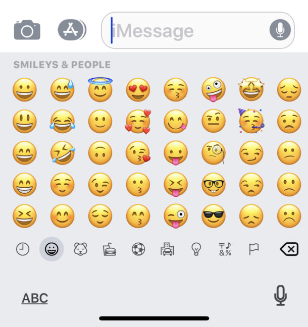 Enable The Emoji Keyboard On An Iphone Osxdaily