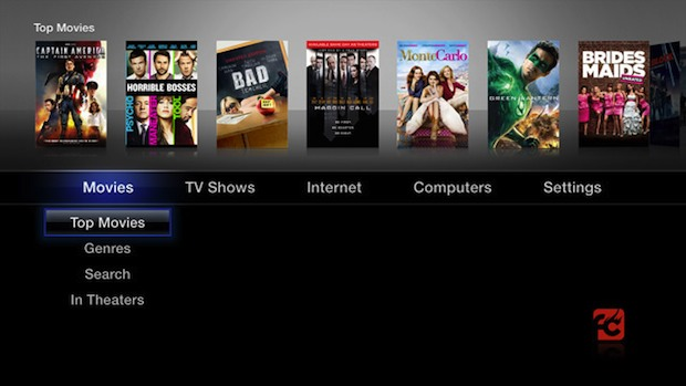 Jailbroken Apple TV 2