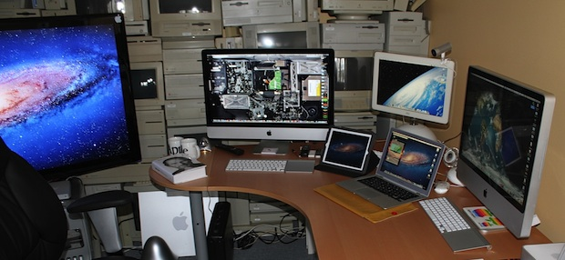 Lots and lots of Macs