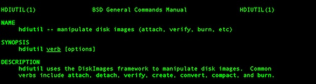 Mount a DMG from the Command Line in Mac OS X