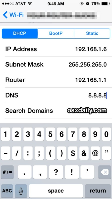 Speed up iPhone networking with new DNS